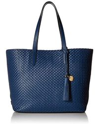 Cole Haan - Payson Woven Leather Tote Bag - Lyst