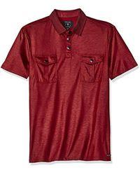 Guess - Mason Military Polo Shirt - Lyst