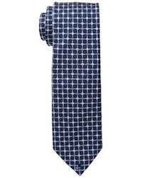 Geoffrey Beene - Ruble Tile Grid Tie - Lyst
