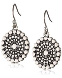 Lucky Brand - S Blue Moon Drop Earrings - Lyst
