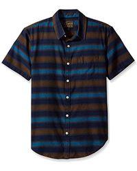Lucky Brand - Ballona Shirt In Blue Stripe - Lyst