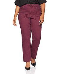 Bandolino - Plus Size Mandie Signature Fit 5 Pocket Jean - Lyst