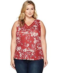 Lucky Brand - Plus Size Wildflower Lace Tank Top - Lyst