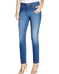 NYDJ - Alina Skinny Jeans In Sure Stretch Denim - Lyst