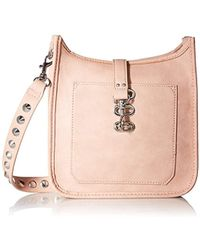 Steve Madden - Handbag, Wylie, Women Non Leather Crossbody With Functional Outside Pocket And Shoulder Strap With Studs - Lyst