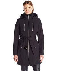 BCBGeneration - Softshell With Pu Detail - Lyst