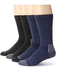 Dickies - 4 Pack All Season Marled Moisture Control Crew Socks - Lyst