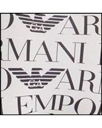 Emporio Armani - Logomaniac Brief - Lyst