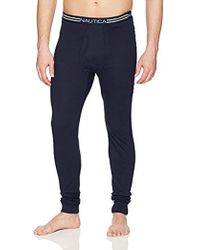 Nautica - Thermal Underwear Long John - Lyst