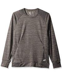 Skechers - Space Dye Pullover - Lyst