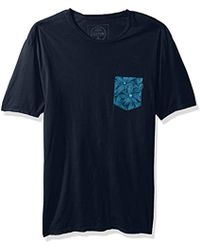 Rip Curl - Staple Custom Pkt Tee - Lyst