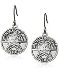 Lucky Brand - S Coin Drop Earrings - Lyst