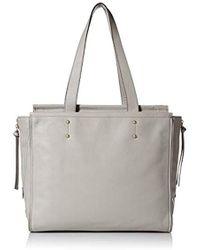 5619da6f71 Pour La Victoire Yves Crocodile Embossed Leather Tote Bag Jade in ...