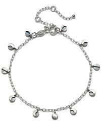 Satya Jewelry - Sterling Silver Moon Phase Charm Bracelet - Lyst