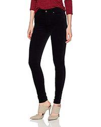 AG Jeans - The Farrah Skinny Opulent Stretch Velveteen - Lyst