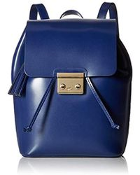 Lacoste - Lve Mat Backpack With Flap - Lyst