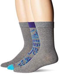 DIESEL - Skm-ray-threepack Heritage Socks 3 Pack, - Lyst