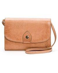 Amazon Prime · Frye - Melissa Wallet Crossbody Clutch Leather Bag - Lyst 1c4814ec24015