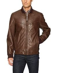"Andrew Marc - Martense-26.5"" Sheep Bomber Jacket - Lyst"