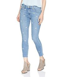 Joe's Jeans - Eco Friendly Icon Midrise Skinny Crop Jean In Ruthie - Lyst