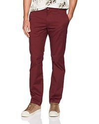 RVCA - Weekend Stretch Chino Pant - Lyst