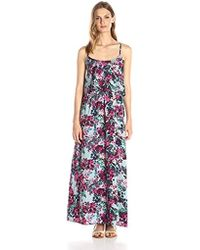 7e68e9c6ea Lyst - Lark   Ro Tiered Top Maxi Dress in Pink - Save 17%