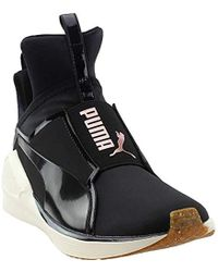 Lyst - PUMA Women S Classic Wedge Casual Sneakers From Finish Line ... 17ae36045