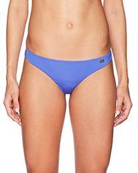 Emporio Armani - Ea7 Studs Solid Brazilian Bikini Bottom - Lyst