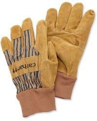 Carhartt - Suede Work Glove With Knit Cuff - Lyst