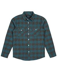 Brixton - Bowery Long Sleeve Flannel - Lyst