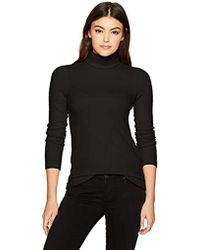 Three Dots - Qq2482 Brushed Sweater Turtleneck - Lyst