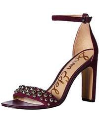 0237e3686ba3 Lyst - Sam Edelman Yoshi Studded Ankle Strap Sandal