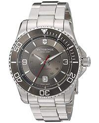 Victorinox - 'maverick' Swiss Automatic Stainless Steel Casual Watch - Lyst
