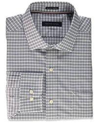Tommy Hilfiger - Dress Shirt Non Iron Regular Fit Multi Check - Lyst