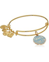 ALEX AND ANI - S Charity By Design Never Give Up Bangle - Lyst