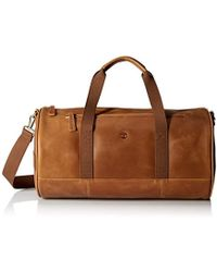 Timberland - Tuckerman Leather Duffel Bag - Lyst