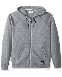 4968f46cdc Lyst - The North Face Texture Cap Rock 1 2 Zip in Gray for Men
