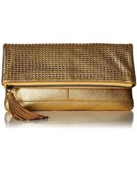 Badgley Mischka - Blake Clutch - Lyst