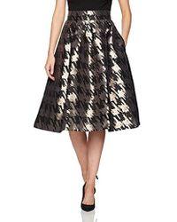 d2d225b9745 Lyst - Eliza J High low Taffeta Ball Skirt (plus Size) in Black