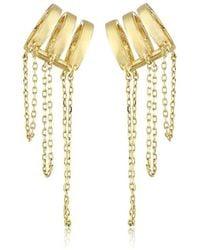 Noir Jewelry - Hidden Falls Ear Cuffs - Lyst