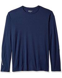 Skechers - Golf Go Dri Ultra Upf 50 Long Sleeve Mock Neck Tee,blue Iris,xxl - Lyst