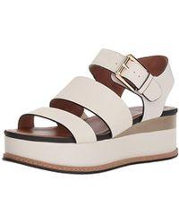 9fa19ef1021 Lyst - Naturalizer Billie Espadrille Wedge Sandal in Brown