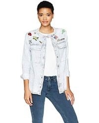 William Rast - Willliam Knotto Shirt Jacket With Patches - Lyst