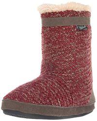 Woolrich - Whitecap Knit Boot Slipper - Lyst