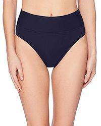 Nautica - Solid Core Bikini Bottom - Lyst