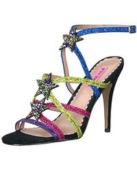 Betsey Johnson - Shining Heeled Sandal - Lyst