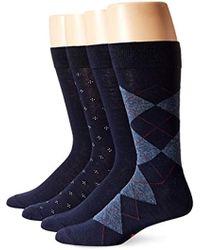 Dockers - 4 Pack Argyle Dress Socks - Lyst