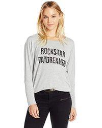 William Rast - Veruca Rock And Roll Sweatshirt - Lyst