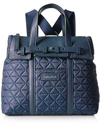 Nautica - Swashbuckler Quilted Convertible Backpack - Lyst