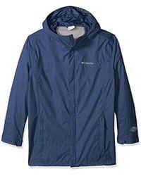 Columbia - Big And Tall Watertight Ii Big & Tall Jacket, Dark Mountain, 2x - Lyst